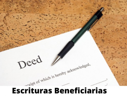 Escrituras Beneficiarias